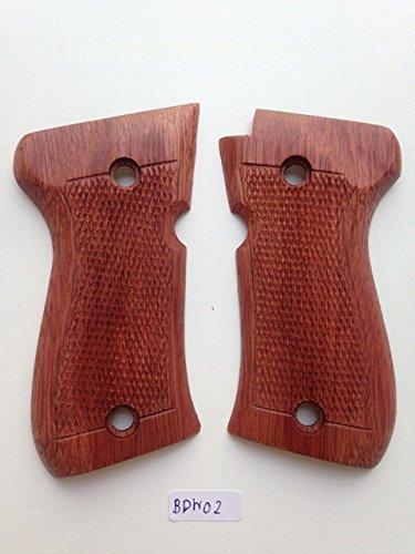 New Browning BDA 380 Hardwood Checkered Handmade #Bdw02
