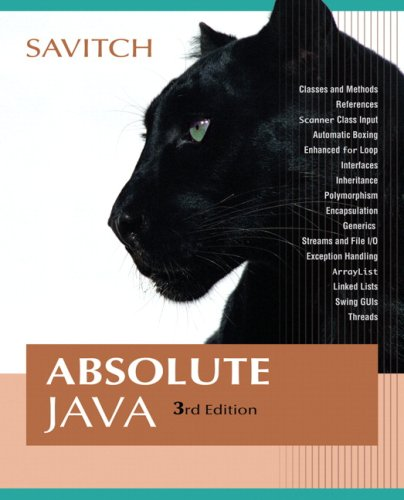 Absolute Java Value Package (includes MyCodemate Student Access Kit)