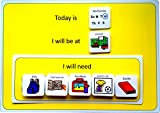 Visual Day Planner AAC (Picture Communication Symbols)