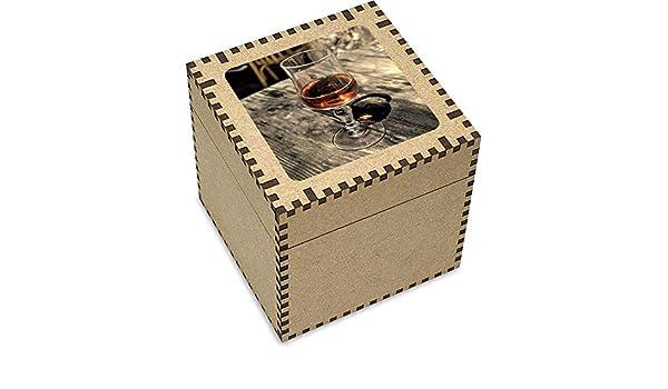 Azeeda Grande (81mm) Copa de Vino Joyería Caja (JB00000247): Amazon.es: Juguetes y juegos