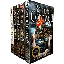 Bernard Cornwell Warrior Chronicles, The Last Kingdom Series 2 Books Set Collection Pack (5 Books Tiles are: Flame Bearer, Death of Kings, Warriors of the Storm, The Pagan Lord, The Empty Throne Books 6 To 10)