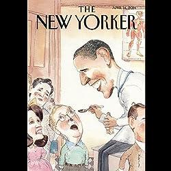 The New Yorker, April 14th 2014 (Ryan Lizza, Daniel Mendelsohn, Hilton Als)
