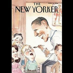 The New Yorker, April 14th 2014 (Ryan Lizza, Daniel Mendelsohn, Hilton Als) Periodical