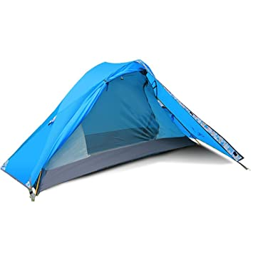 Flytop Lightweight Backpacking Single Person Tent 1-Person Tent For C&ing Backpacking Mountaineering -Ultralight  sc 1 st  Amazon.com & Amazon.com : Flytop Lightweight Backpacking Single Person Tent 1 ...