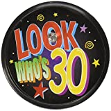 Beistle BL021 Look Who's 30 Blinking Button, 2-Inch