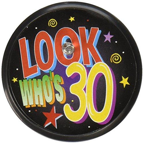 Beistle BL021 Blinking Button 2 Inch