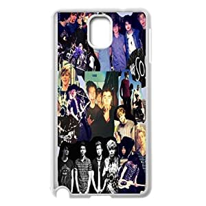 Custom High Quality WUCHAOGUI Phone case 5SOS music band Protective Case For Samsung Galaxy NOTE4 Case Cover - Case-8