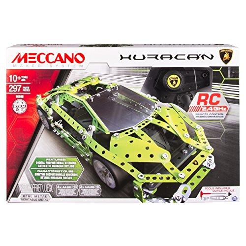 Meccano-Erector - Lamborghini Huracan, 2.4 GHz RC Vehicle Model Kit