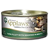 Applaws Tuna Fillet And Seaweed, 24 - 2.47-Ounce Can