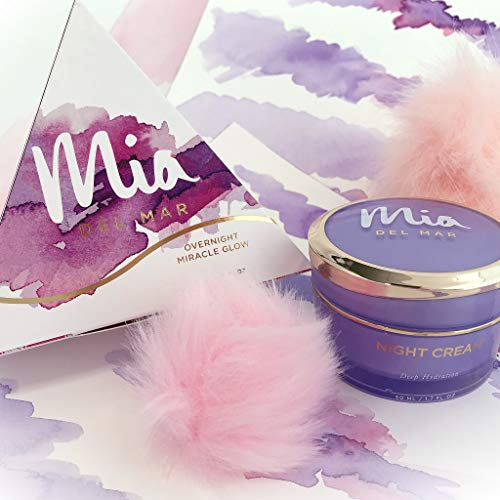 511l3WxaqGL - Overnight Miracle Glow Night Cream - Anti-Aging Retinol, Moisturizing Hyaluronic Acid, Jojoba Oil & Squalane Help Hyperpigmentation, Oil and Acne-Prone Skin. Vegan And Clean Skin Care.