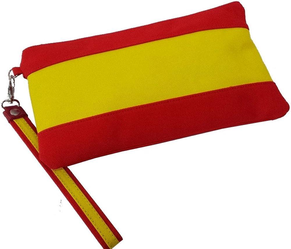 ZiNGS Bolso, Cartera o Clutch Bandera de España: Amazon.es: Ropa y accesorios