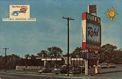 Duff's Quality Court Resort Motel Winchester, Virginia Original Vintage Postcard