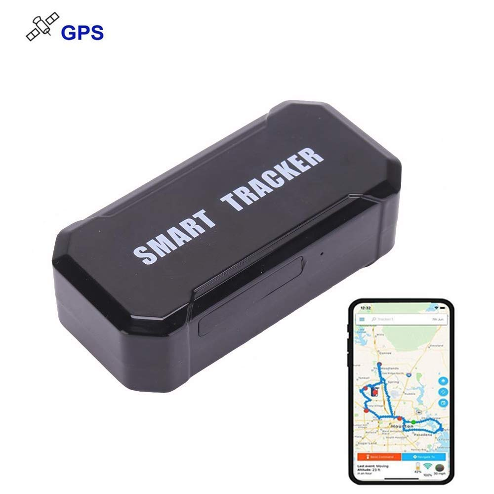 GPS LM003A 100days Standby Real Time Anti-Theft GPS Tracker for Vehicle Car with Strong Magnet 10000mah Battery
