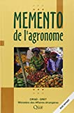 img - for M mento de l'agronome (QUAE GIE) (French Edition) book / textbook / text book
