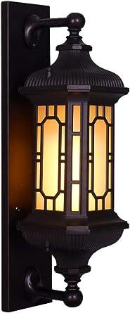 Lamparas Apliques Luces De Pared Lampara Pared Luces Apliques De Pared Impermeable Exterior Pared Puerta Jardín Luz Jardín Villa Pasillo Luz Balcón Iluminación Exterior
