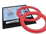 Sound Dynamics 10'' Red Foam Speaker Repair Kit FSK-10AR (PAIR)