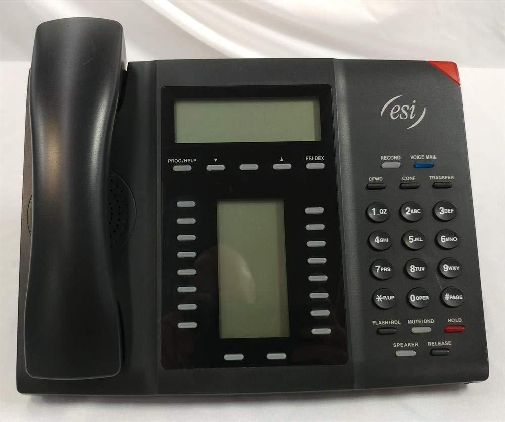 ESI 60D ABP 5000-0594 Self Labeling Digital Telephone with Full Duplex Speakerphone and Backlit Display (Renewed) by ESI (Image #1)