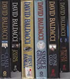 img - for 6 David Baldacci Books: The Camel Club / Divine Justice / First Family / Simple Genius / Stone Cold / The Whole Truth book / textbook / text book