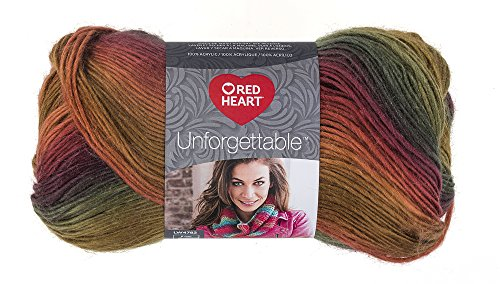 Red Heart Boutique Unforgettable Yarn, -