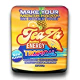 canned tobacco - TeaZa Energy's New Tropical - Mixture of Pineapple, Mango and Citrus 12 Flip Tops