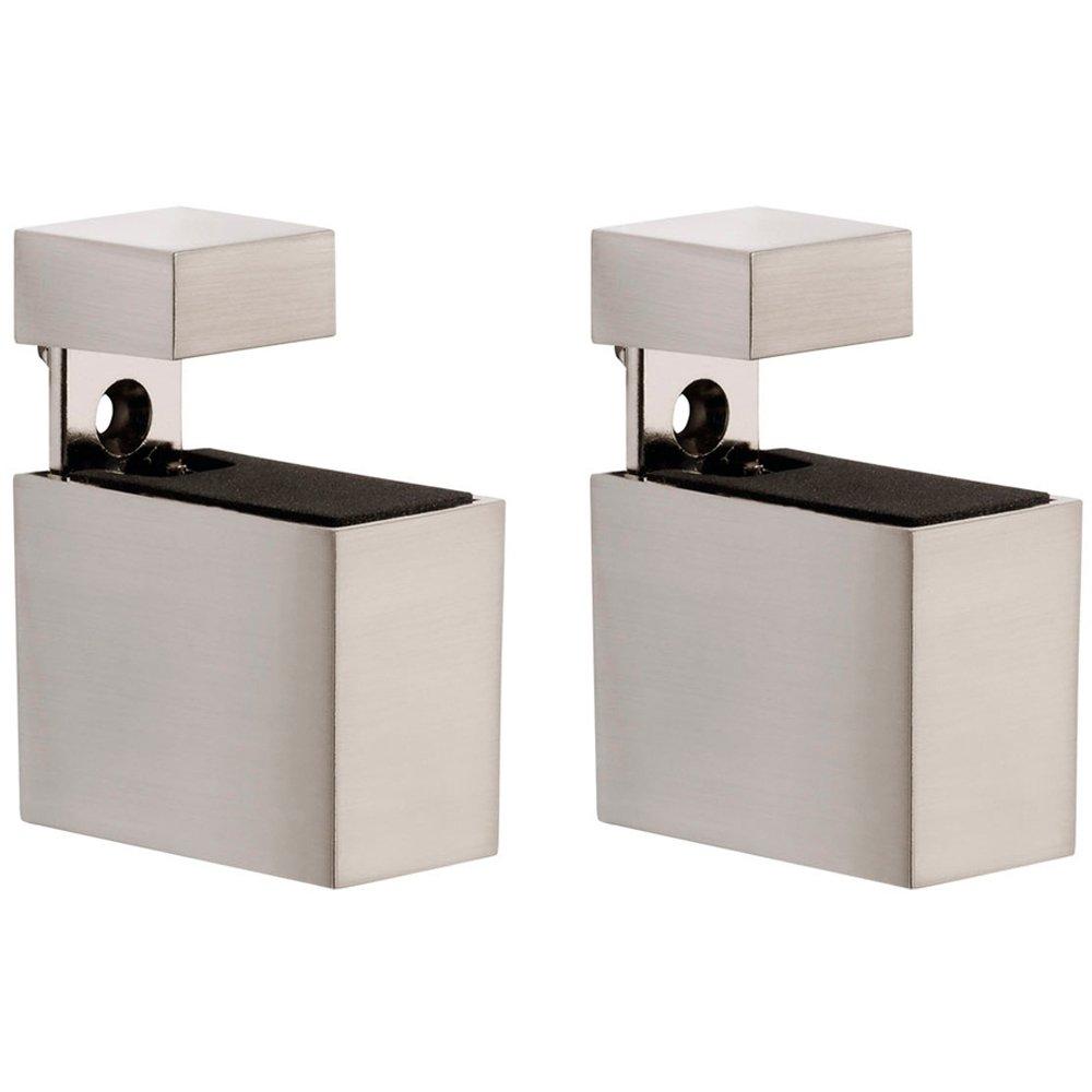 Adjustable Shelf Brackets Metal Rectangles Stainless Steel