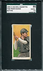 Frank Chance Unsigned 1909-11 T206 Card (SGC)