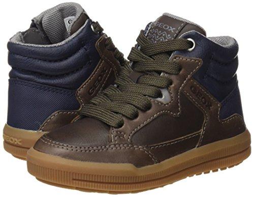 Bambino D A Marrone navy brown Alto Collo Arzach Sneaker J Geox qw7EII