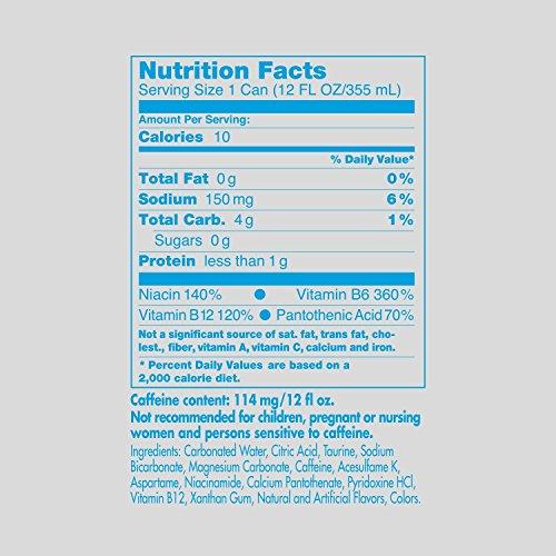 Red Bull Energy Drink Sugar Free 24 Pack of 12 Fl Oz, Sugarfree