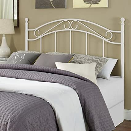 Sensational Amazon Com Traditional Full Queen Size Metal Headboard Beutiful Home Inspiration Truamahrainfo