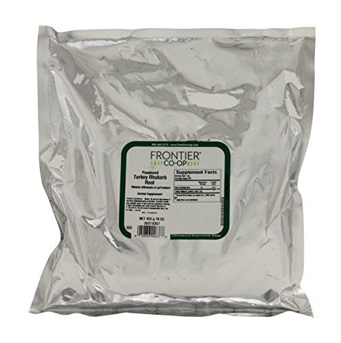 Turkey Rhubarb Root Powder - 1 lb,(Frontier) ()