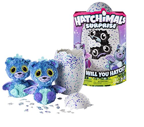 Hatchimals Surprise Peacat Purple Egg Playset