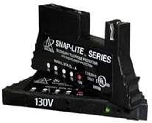 SNAP-IT 66-BLOCK w Protection w Diagnostic LED 150mA Self Resettable Fuse, For Analog Circuits