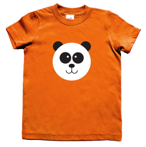 Ladybug Organic Baby T-shirt - Unisex Panda T-Shirt (4T) - Made in USA