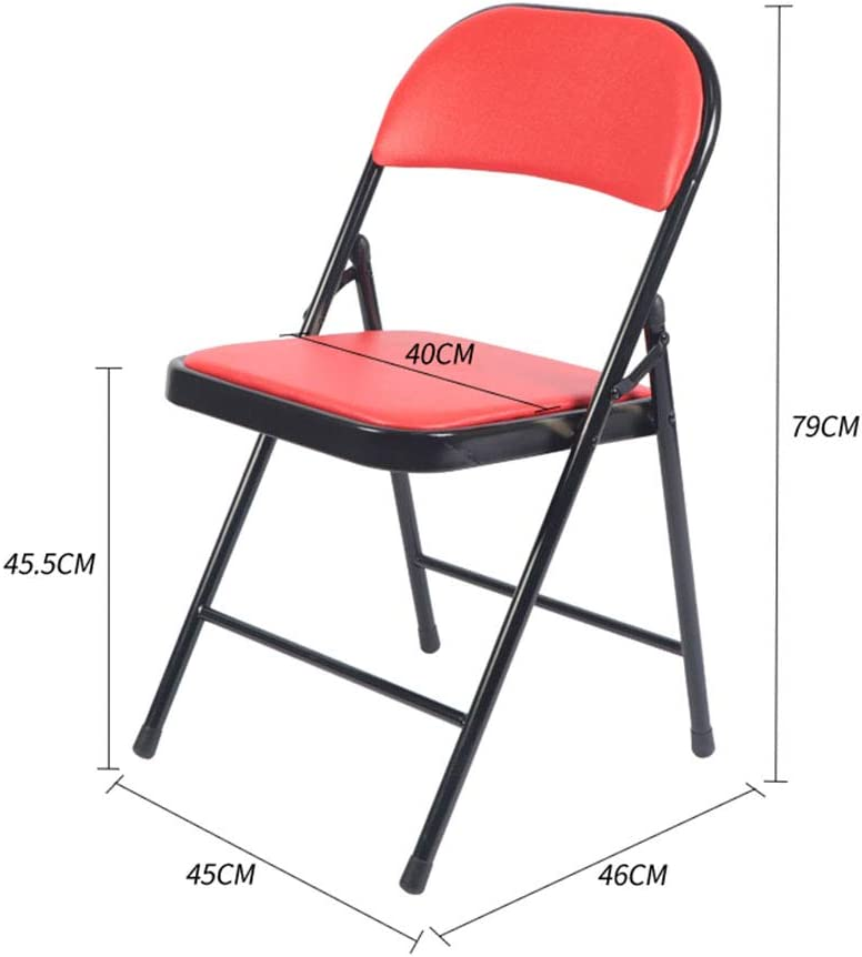 Folding Chair Silla Plegable YUHAO(UK) de plástico, Multicolor Opcional