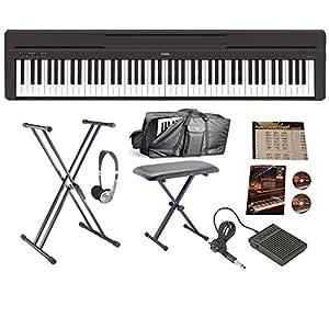 yamaha p45 huge bundle musical instruments. Black Bedroom Furniture Sets. Home Design Ideas