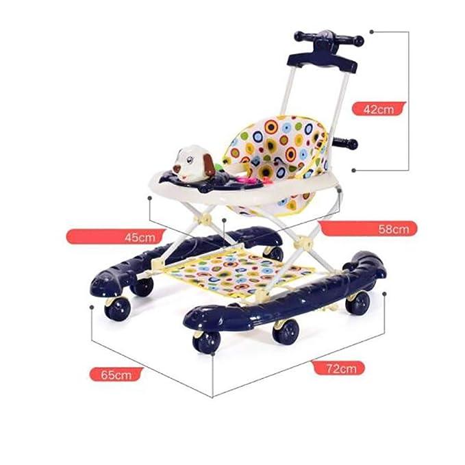 FCH123 Andador De Bebé Plegable Andador para Bebé Evolutivo ...