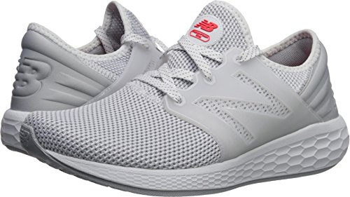 - New Balance Men's Cruz v2 Fresh Foam Running Shoe, White/White, 8 D US