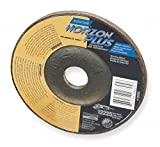 9'' Type 27 Ceramic Depressed Center Wheels, 5/8''-11 Arbor, 1/4''-Thick, 6600 Max. RPM