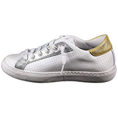 2 Bianco Femme Blanc pour Star Baskets SRqwOSgnTr