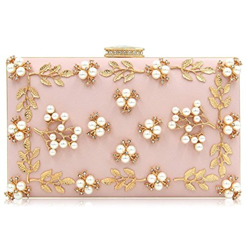 Rising Bags Clutch ON Female Wedding Bag Clutches Evening Beaded Red Purses Women xr4wqxTS