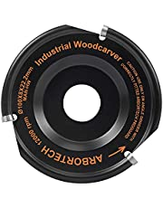 ARBORTECH Industrial Woodcarver | Ø 100 mm Carbide Wood Carving Disc for Angle Grinder