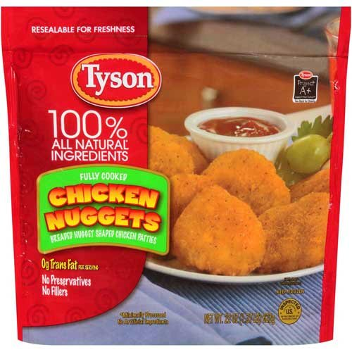 Tyson Chicken Patties
