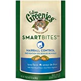 GREENIES SMARTBITES Cat Treats, Tuna, Hairball Control, 2.1 oz