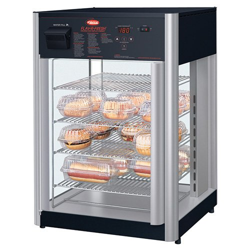 od Display Cabinet - Humidified 4-Tier Stationary Pizza Rack (Humidified Holding Cabinet)