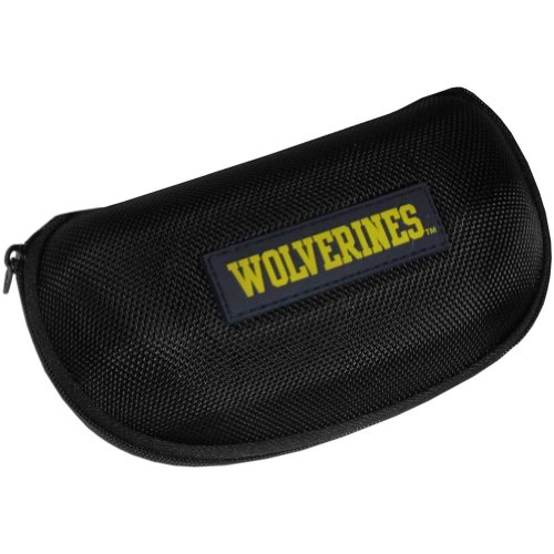NCAA Michigan Wolverines Hard Shell Glasses Case, Black