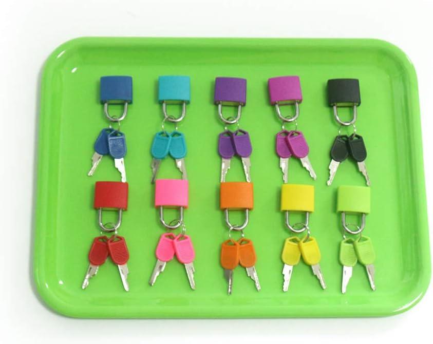 geneic Colorful Montessori Locks Keys Set Children Early Learning Educational Preschool Sensory Toys Kit