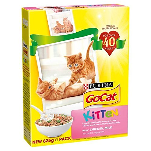 Go Cat Rabbit - Go-Cat Kitten with Chicken, Milk & Added Vegetables 825g (PACK OF 6)