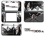 Vanknight Vinyl Decals Skin Sticker Anime Bleach Ichigo for the New Nintendo 3DS XL 2015