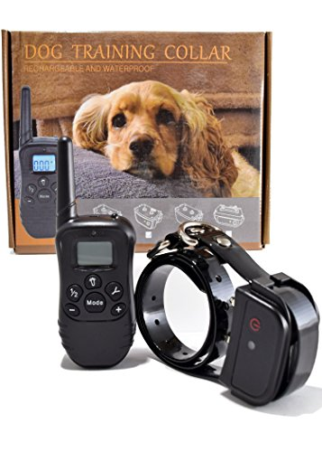 Innotek Tracking Systems (Shock Collar for Small to Large Dogs Rechargeable & Waterproof 990ft Remote E-Collar with Beep Vibrating & Electric Shocking Best Sport Shocker)