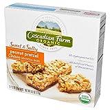 Cascadian Farm, Organic, Chewy Granola Bars, Sweet & Salty, Peanut Pretzel, 5 Bars, 1.2 oz Each(Pack of 6)